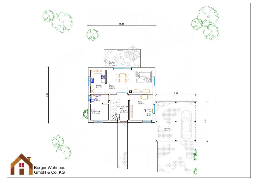 Erdgeschoss-gartstadt
